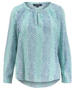 Marc O'Polo 9.03149E+11 Blouse Femme, Vert (Combo R08) 38 (Taille Fabricant: 36)