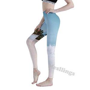 Mesllings Leggings de yoga imprimé taille haute pour femme avec contrôle du ventre, l75cy0x9njhk, xl