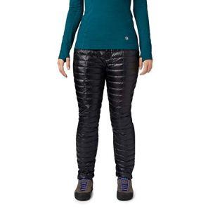 Mountain Hardwear Ghost Whisperer Pantalon pour Femme, Femme, Dark Storm, L/Long