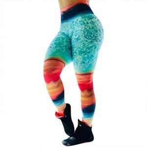 PJPPJH Shorts d'entraînement, Pantalons de Yoga Capris de Course pour Femmes Leggings imprimés de Mode pour Femmes Pantalons de Fitness Minces Confortables Pantalons de Sport pour Femmes
