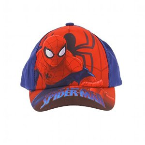 Spiderman – Casquette Spiderman Ultimate Spiderman, proctection solaire UV30+ – Marine, 52 cm