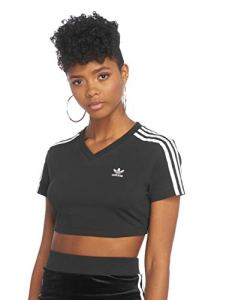 T-Shirt Cropped Femme Adidas Cropped