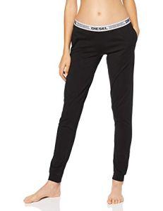 Diesel UFLB-BABYX, Bas de pyjama Femme Noir (Black/Bright White E0013-0Tawa) L