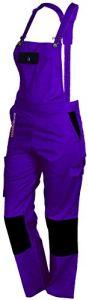 FASHION SECURITE – PEP's – Salopette de Travail – Femme – Violet (Violet/noir) – Taille: XS (34)