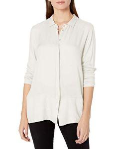HANRO Urban Casuals Chemise à manches longues pour femme – Blanc – Taille M