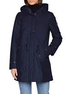 Marc O'Polo 9.01115E+11 Manteau, Bleu (Deep Atlantic 897), 36 (Taille Fabricant: 34) Femme