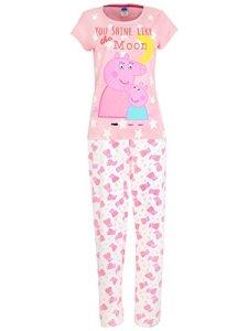 Peppa Pig – Ensemble De Pyjamas – Mummy Pig – Femme – Small