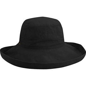 Chapeau d'Eté Pliable Lanikai noir SCALA – Taille unique