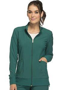Cherokee Women's iFlex CK303 Zip Front Warm-up Jacket