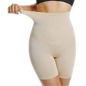Joyshaper Culotte Femme Sculptante Gaine Amincissante Ventre Plat Invisible sous-vêtements Panty Taille Haute, Beige, XL
