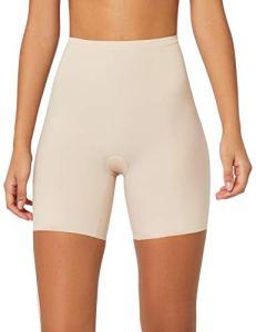 Maidenform Sleek Smoothers-Thigh Slimmer Combinaison Gainante, Beige (Paris Nude), L Femme