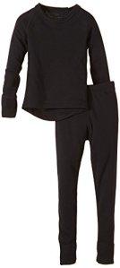 CMP ensemble de sous-vêtements thermiques, Noir – noir, 176 cm – 3Y84800
