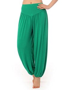 Hoerev® super doux spandex modal pantalon harem yoga / pilates