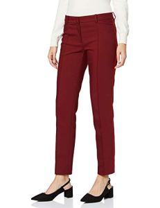 More & More Businesshose Von Tailleur-Pantalon, Rouge (Wine Red 0548), 38 (Taille Fabricant: 36) Femme