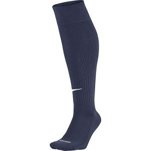 Nike – Academy – Chaussettes de football – Mixte adulte – Multicolore (Midnight Navy/White) – L (Taille fabricant: 42-46)