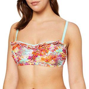 Pour Moi? Santorini Haut de Bikini sans Bretelles pour Femme – Multicolore – Taille Unique
