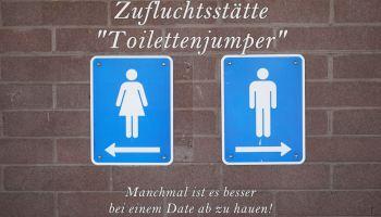 Zufluchtsstätte Toilettenjumper