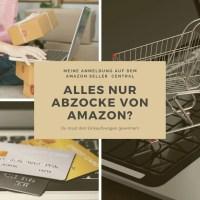 Meine Anmeldung auf dem Amazon Seller Central! Alles nur Abzocke von Amazon?