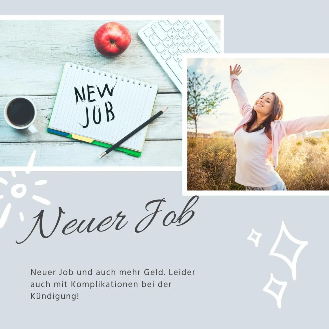 Neuer Job und mehr Geld