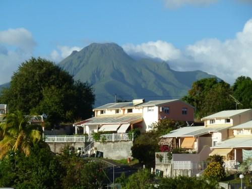 Vue Montagne Pelée Martinique
