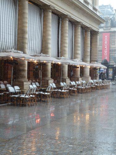 Place Colette, café Nemours