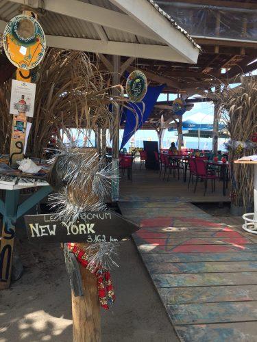 Le Petibonum Le Carbet Martinique Restaurant Bar de plage privée