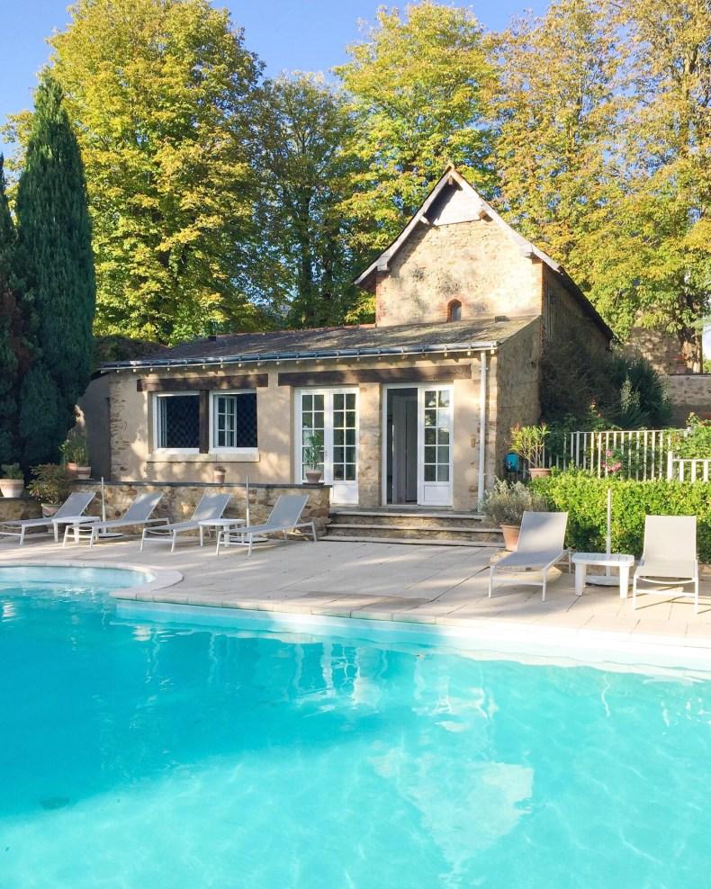 Château de Noirieux piscine