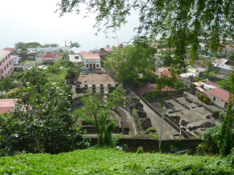 Ruines de Saint-Pierre Martinique