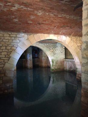 Bassin de l'amiral Rochefort Corderie Royale Charente Maritime