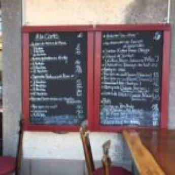 la taverne du port restaurant Marseillan Huitres carte