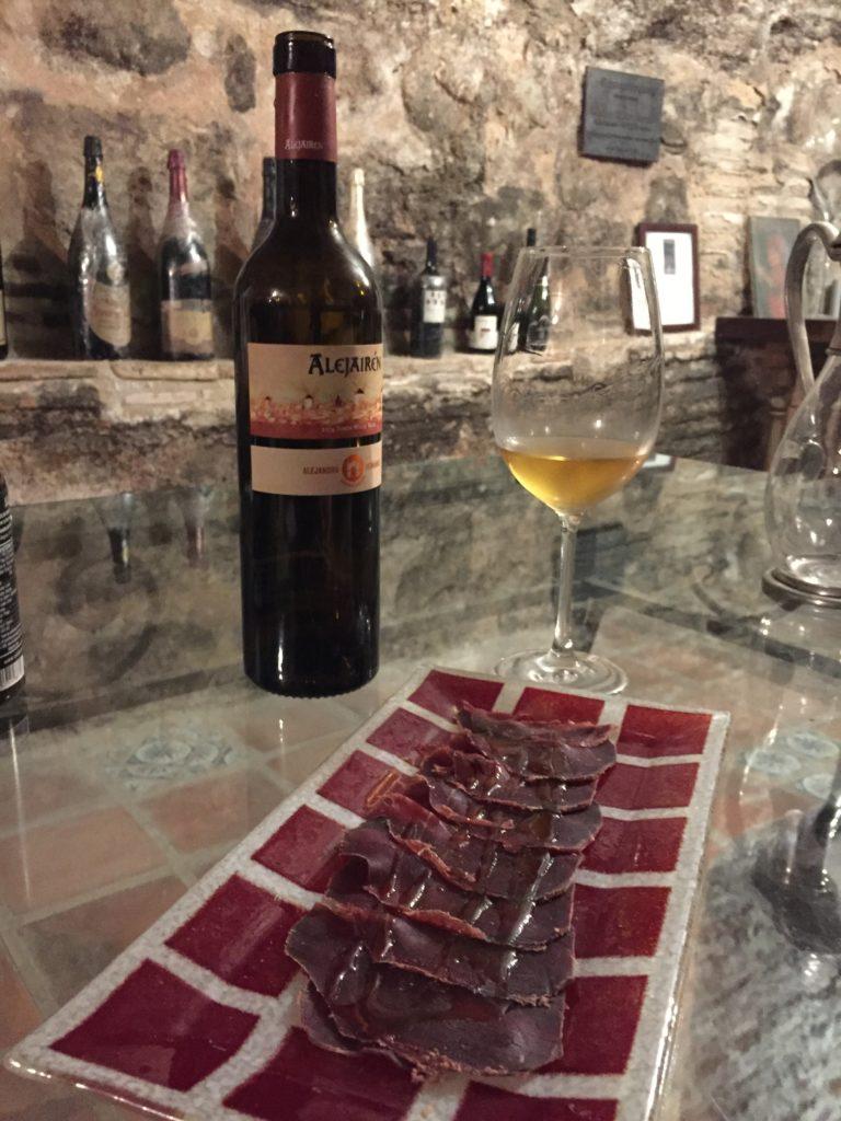 Restaurant Adolfo Tolede Espagne Miss Ségo Gastronomie Gibier viande sauvage Europe