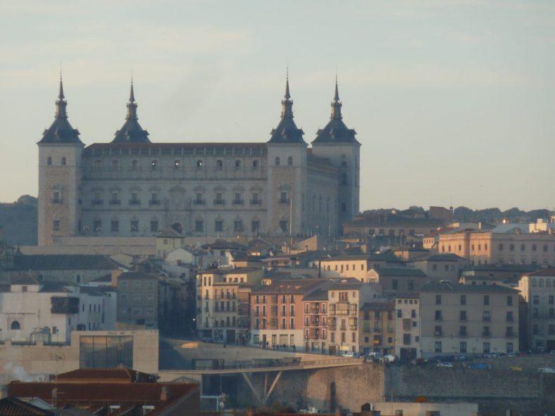 Tolède vu depuis Eurostar Hotel - Miss Ségo