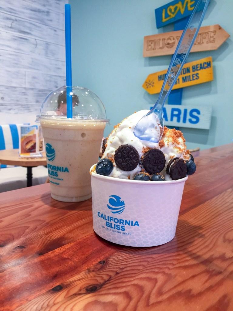 Frozen yogurt paris et smoothie