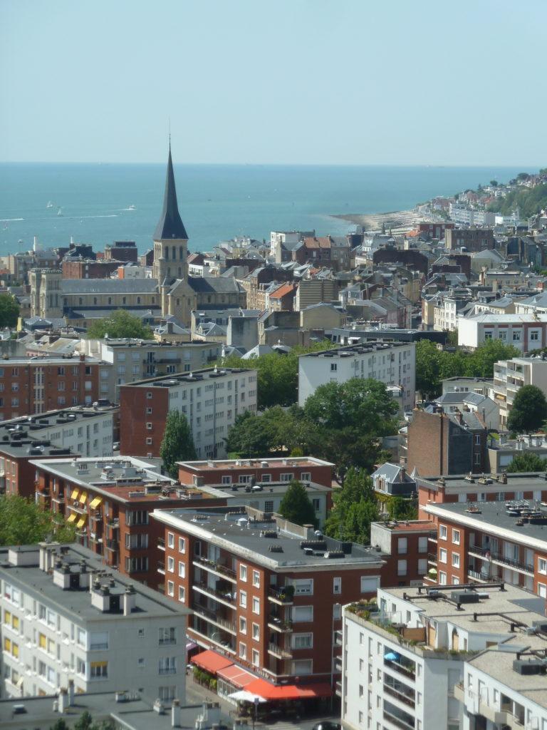 Vue hôtel de ville mairie Le Havre