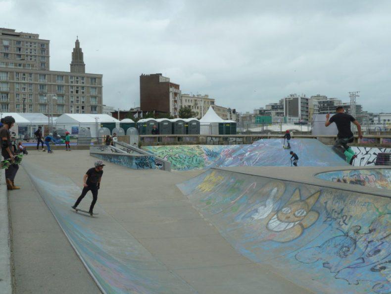 Skatepark Le Havre