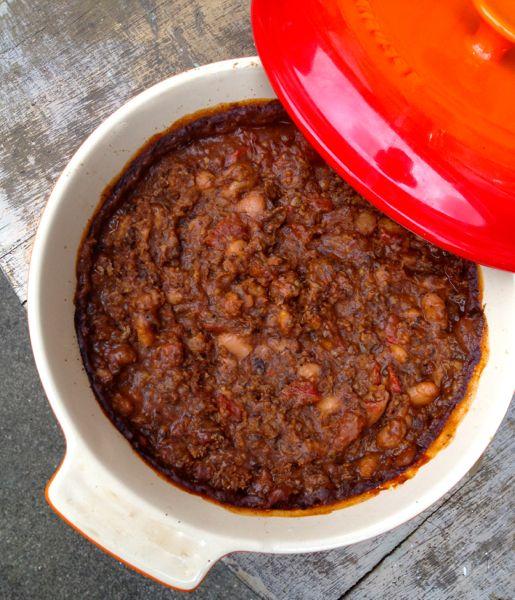 Iberian Baked Beans