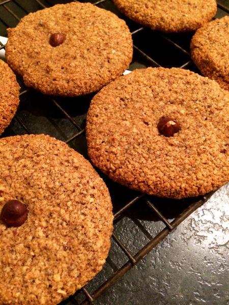 Vegan German Hazelnut Cookies