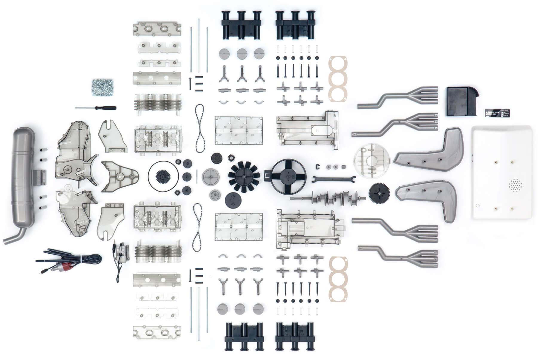 Mini V8 Engine Kit