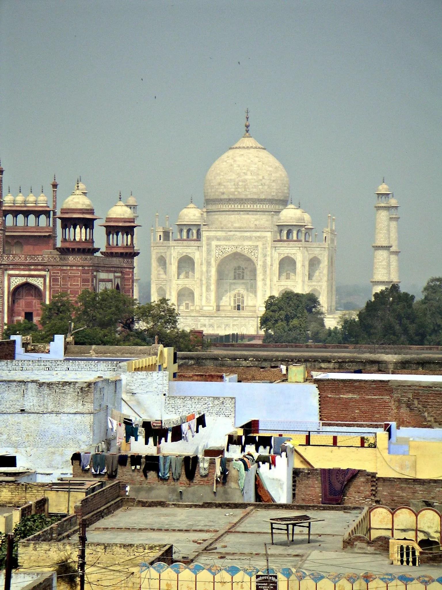 Finally, the Taj Mahal