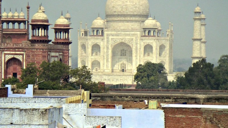 Finally, the Taj Mahal