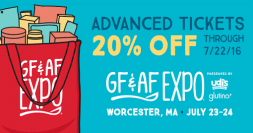 GFAF 20 percent off tickets
