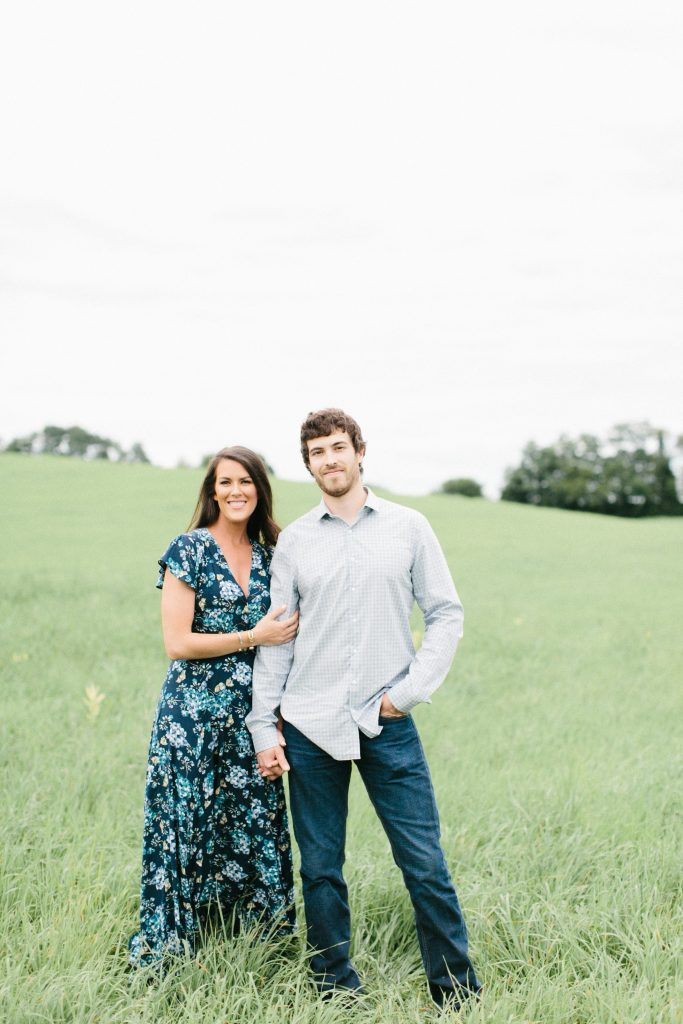 Whimsical, Country Engagement Photos