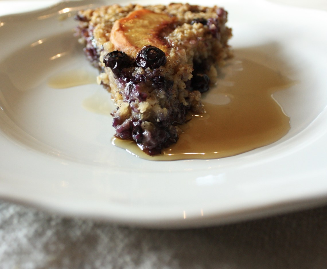 Baked Berry Breakfast Skillet