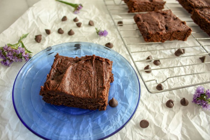 The Avocado Brownies