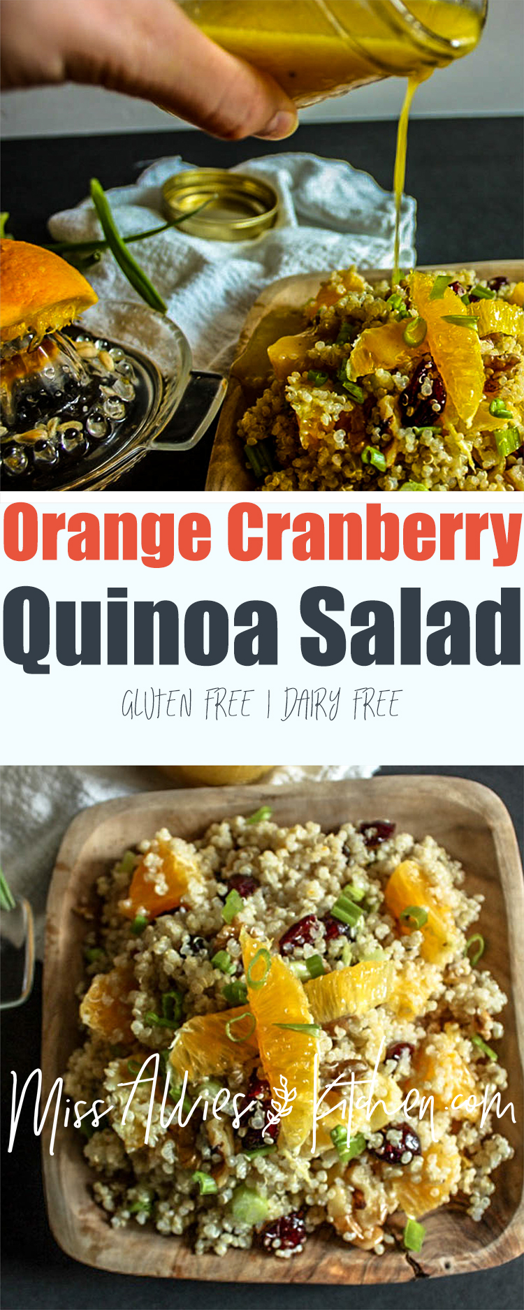 Orange Cranberry Quinoa Salad