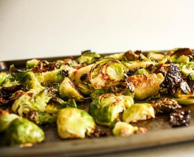 Roasted Brussel Maple Fall Salad
