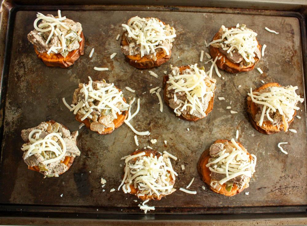 Sweet Potato Cheesteaks