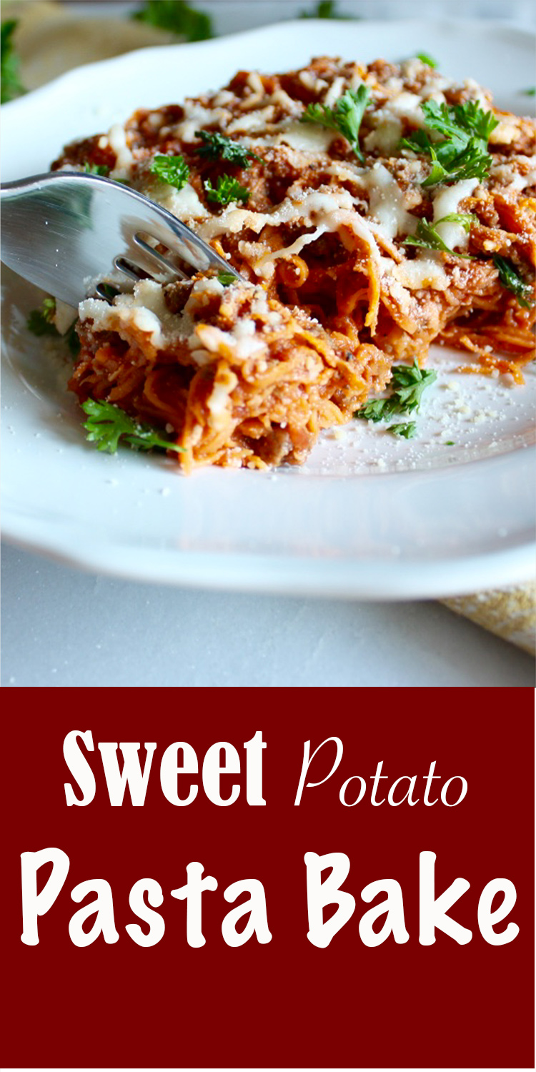 Sweet Potato Pasta Bake