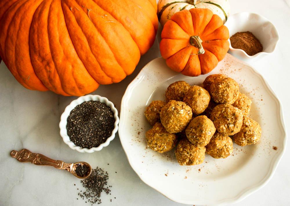 Pumpkin Packed Power Balls