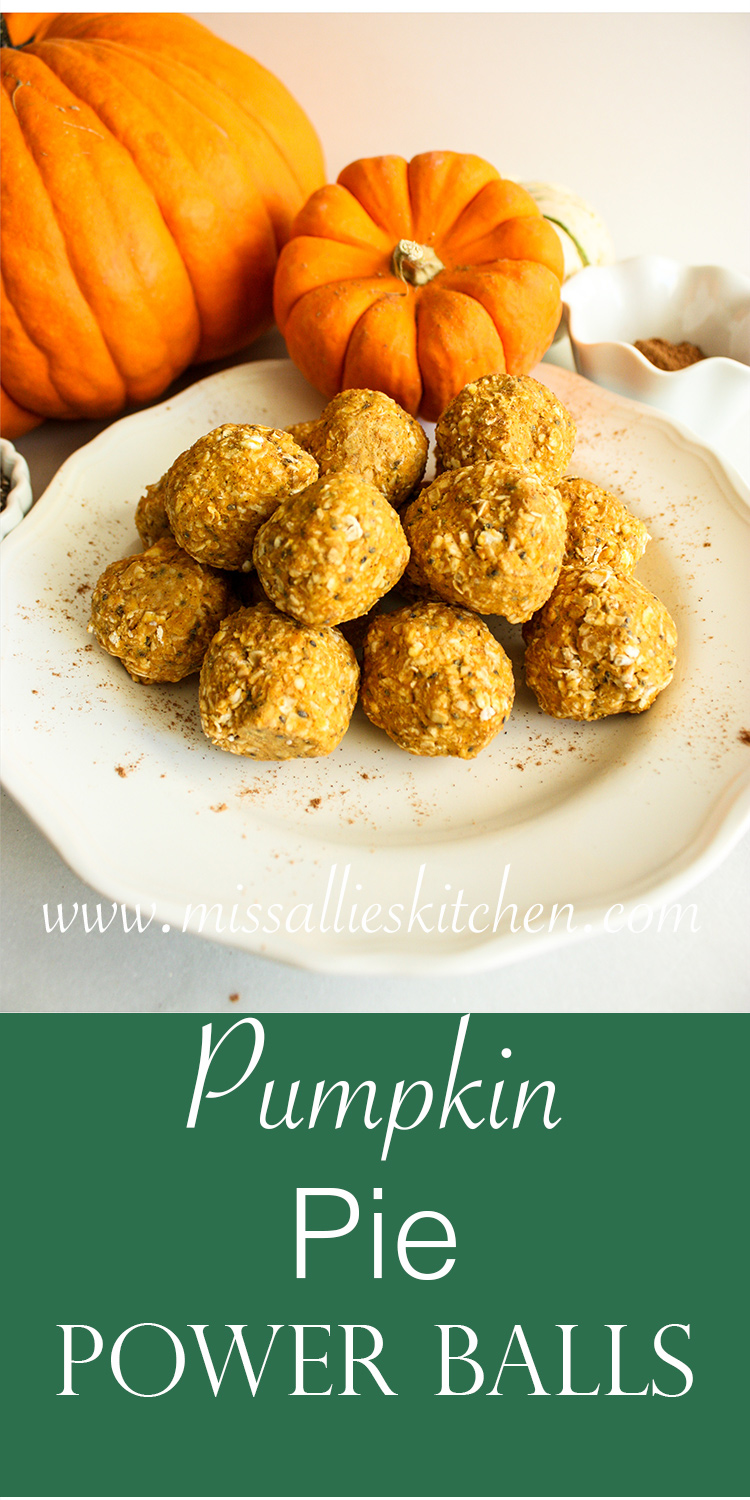Pumpkin Pie Power Balls
